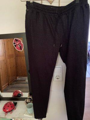 Tommy Hilfiger Pantalón tipo suéter negro