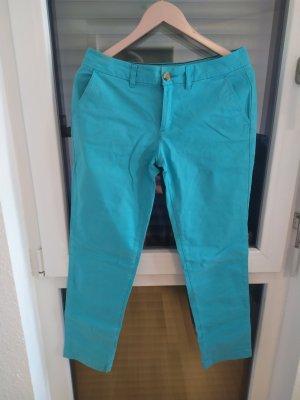 Tommy Hilfiger Spodnie ze stretchu niebieski neonowy-jasnoniebieski