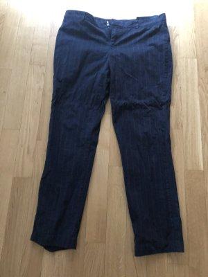 Tommy Hilfiger Pantalone cargo blu scuro-rosso scuro