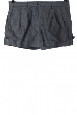 Tommy Hilfiger Hot Pants hellgrau meliert Casual-Look