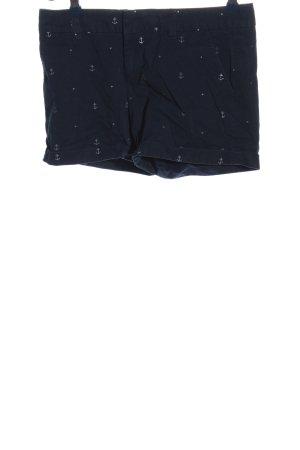 Tommy Hilfiger Hot Pants blau Motivdruck Casual-Look