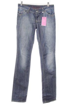 Tommy Hilfiger Hüfthose dunkelblau Jeans-Optik