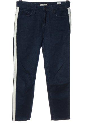 Tommy Hilfiger Slim Jeans blau-weiß Casual-Look