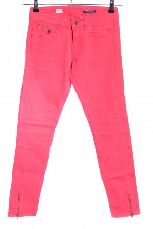 Tommy Hilfiger Jeans vita bassa rosa stile casual