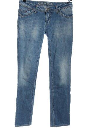 Tommy Hilfiger Jeans taille basse bleu style décontracté