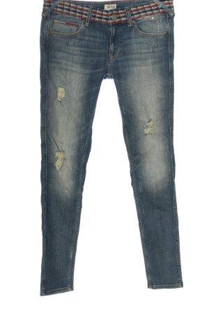 Tommy Hilfiger Hüftjeans blau Street-Fashion-Look