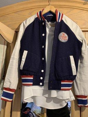 Tommy Hilfiger Denim College Jacket multicolored wool