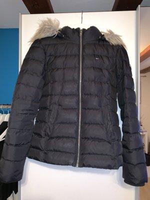 Tommy Hilfiger Down Jacket black-brown