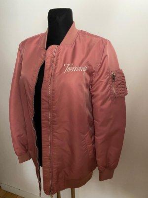 Tommy Hilfiger Bomberjack stoffig roze-rosé