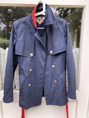 Tommy Hilfiger Cappotto corto blu scuro-rosso