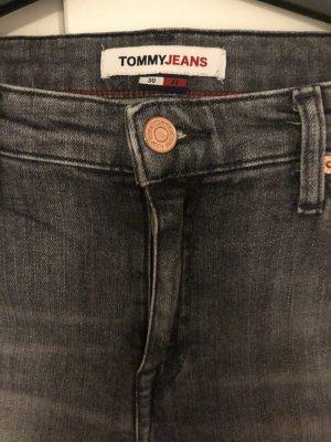 Tommy Hilfiger Skinny jeans antraciet Katoen