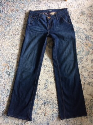 Tommy Hilfiger Low Rise jeans donkerblauw-blauw