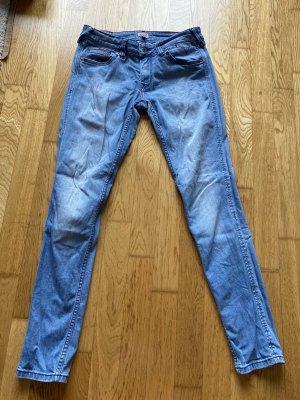 Tommy Hilfiger Jeansy rurki błękitny-stalowy niebieski