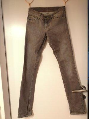 Tommy Hilfiger Denim Jeansy z prostymi nogawkami szary