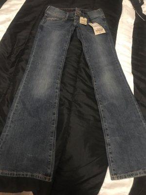 Tommy Hilfiger Denim Jeans flare gris ardoise-bleu foncé