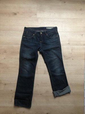 Tommy Hilfiger Denim Jeans flare bleu foncé