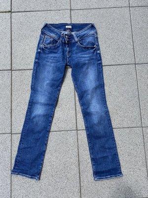 Tommy Hilfiger Jeans vita bassa blu acciaio-blu scuro