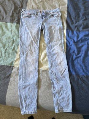 Tommy Hilfiger Denim Spodnie biodrówki błękitny