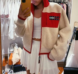 Tommy Hilfiger Jeans Expedition Capsule 90s Sherpa Jacke Bomber