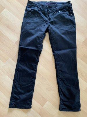Tommy Hilfiger Jeans Gr  30/32 schwarz glänzend