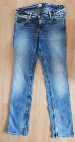 Tommy Hilfiger Hoge taille jeans staalblauw