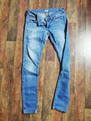 Tommy Hilfiger Jeans taille basse bleuet tissu mixte