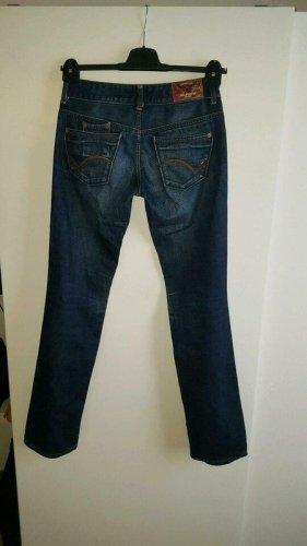 Tommy Hilfiger Jeans vita bassa blu Cotone