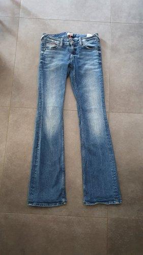 Tommy Hilfiger Jeansowe spodnie dzwony niebieski