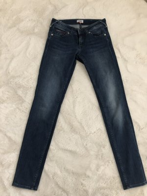 Tommy Hilfiger Tube jeans donkerblauw