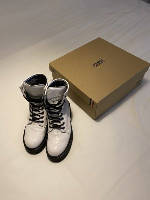 Tommy Hilfiger Booties white-black
