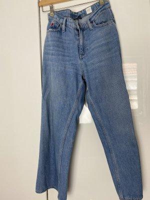 Tommy Hilfiger Culottes blue cotton