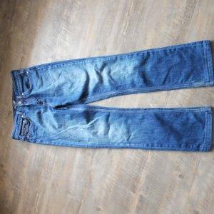 Tommy Hilfiger Jeans Straight Leg  Größe - W27 L34 Usedlook Blogger Trend
