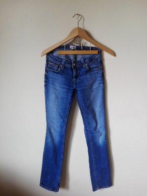Tommy Hilfiger Jeans W27/L32 Straight-Jeans Mid Rise Modell SUZZY