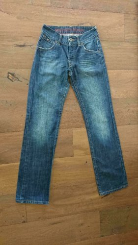 Tommy Hilfiger Denim Jeansy z prostymi nogawkami niebieski Bawełna