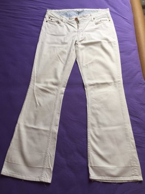 Tommy Hilfiger Low Rise jeans wit