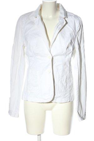Tommy Hilfiger Korte blazer wit casual uitstraling