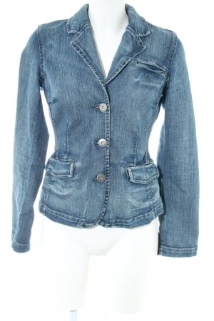 Tommy Hilfiger Jeansblazer blau Street-Fashion-Look