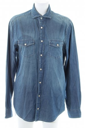 Tommy Hilfiger Jeanshemd blau Casual-Look