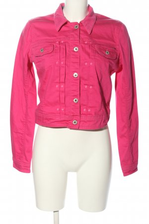 Tommy Hilfiger Jeansjacke pink Casual-Look