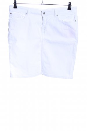 Tommy Hilfiger Gonna di jeans bianco stile casual