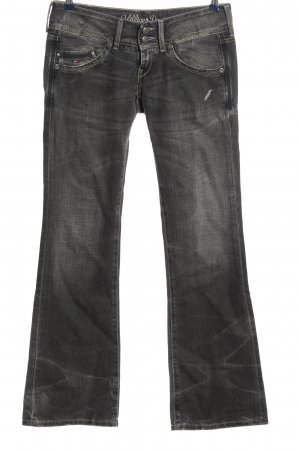 Tommy Hilfiger Jeansschlaghose hellgrau Casual-Look