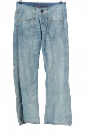 Tommy Hilfiger Jeansschlaghose blau Casual-Look