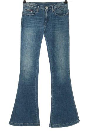 Tommy Hilfiger Jeansowe spodnie dzwony niebieski W stylu casual