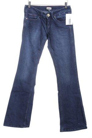 Tommy Hilfiger Jeansschlaghose dunkelblau Jeans-Optik