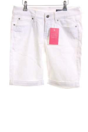 Tommy Hilfiger Jeansshorts weiß Casual-Look