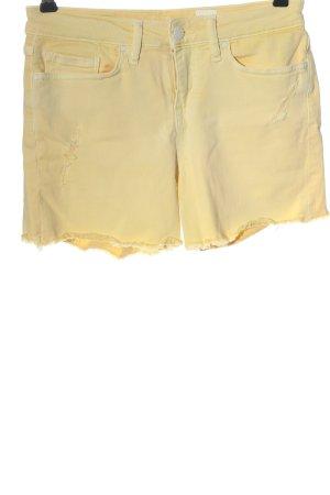 Tommy Hilfiger Jeansshorts blassgelb Casual-Look