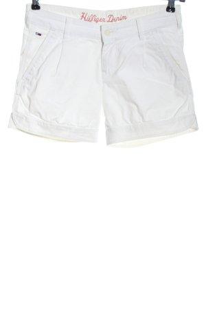 Tommy Hilfiger Short en jean blanc style décontracté