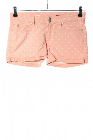 Tommy Hilfiger Jeansshorts nude-weiß Punktemuster Casual-Look