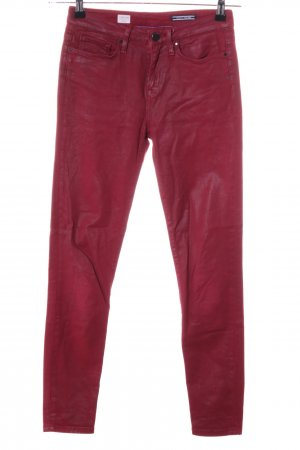 """Tommy Hilfiger Jeggings """"COMO RW"""" rot"""