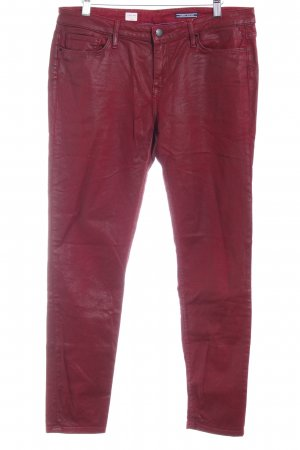 Tommy Hilfiger Jeggings rot Street-Fashion-Look